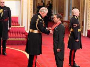 Prince Charles presents award to Bundy businessman