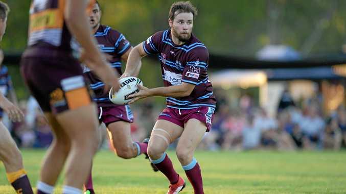 LEADER: Captain Jack Madden led the Capras against the Brisbane Broncos last Saturday night.