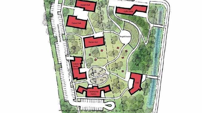 An artists' impression of the Philip St Community Precinct.