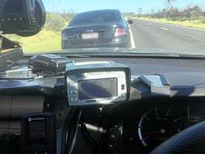 Shocking: Cops catch CQ motorist at amazing speed