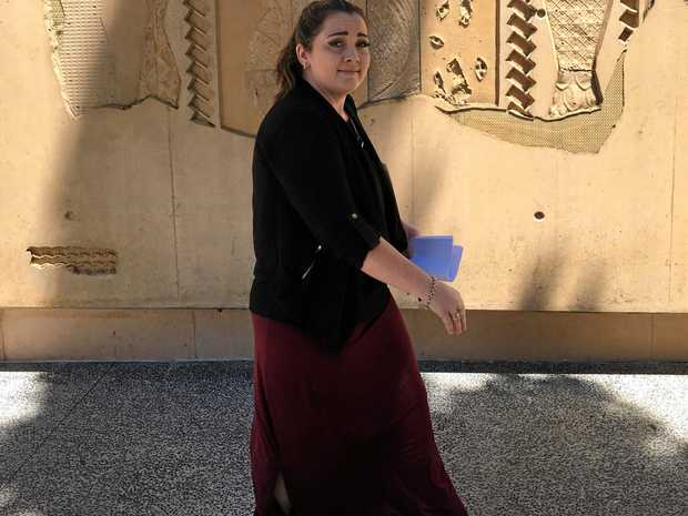 Ipswich mother Samantha Mischke was placed on a good behaviour bond   after she pleaded guilty in court to leaving her child home alone for five hours.