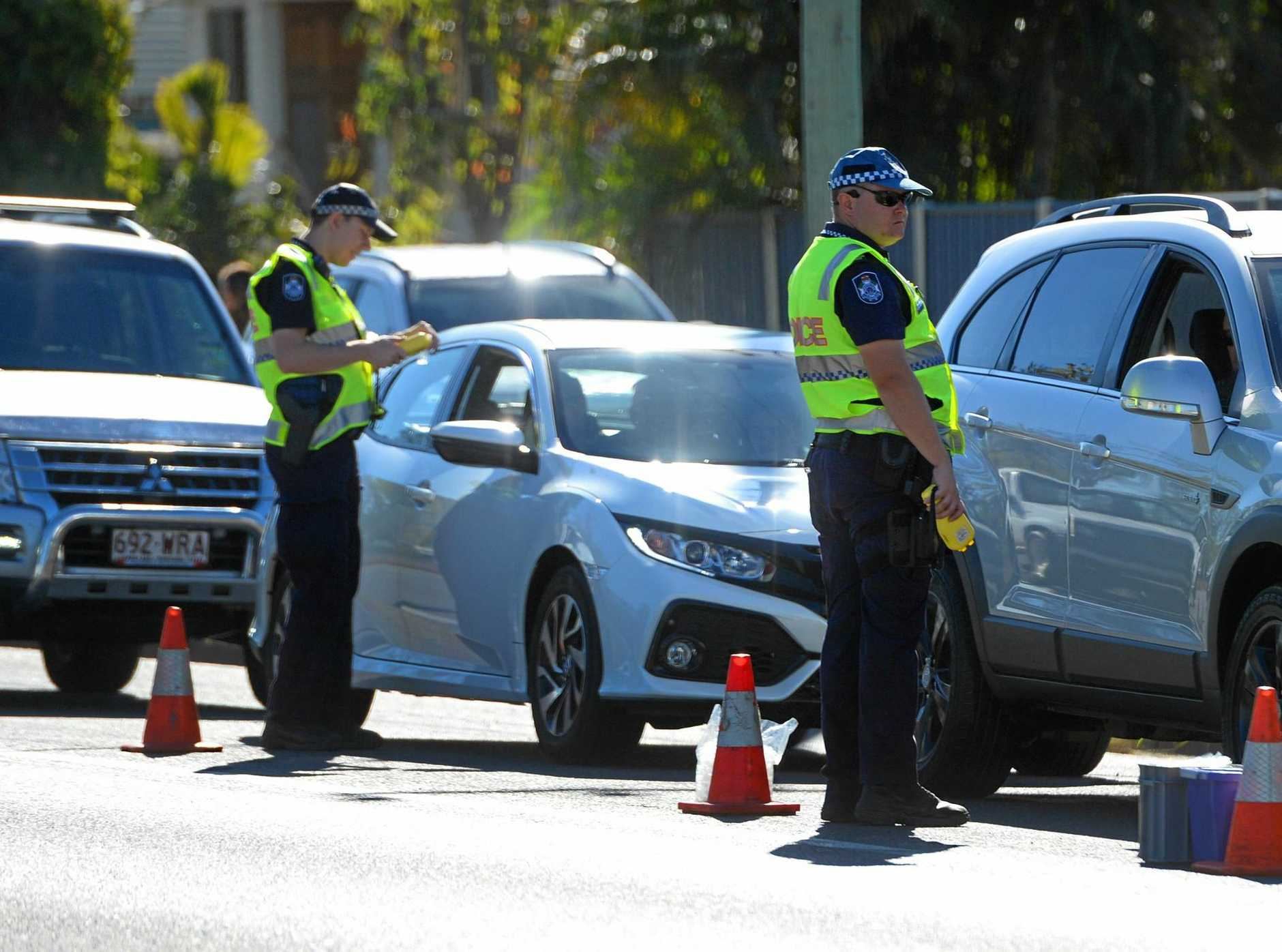 TESTING TIME: Breath tests led drivers to court in Gympie this week.