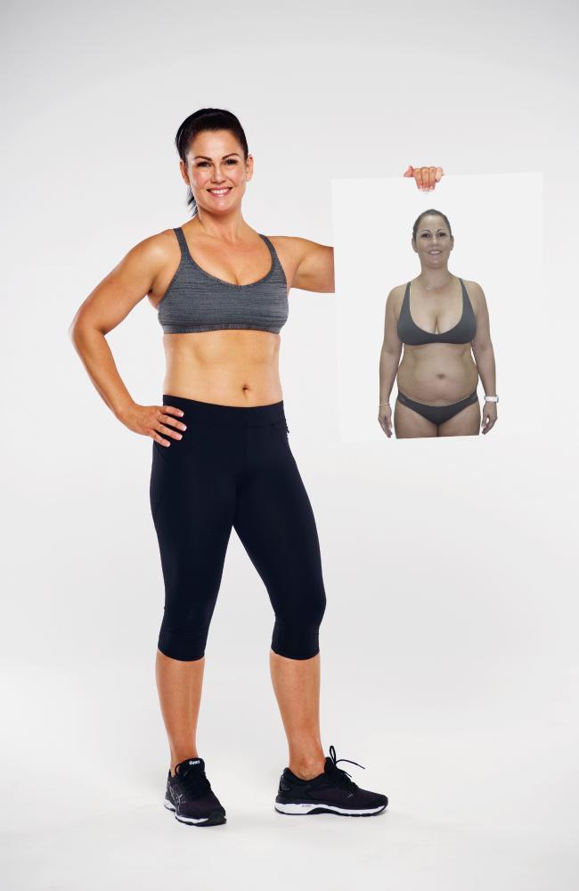 Skei after losing 15kg in 12 weeks.