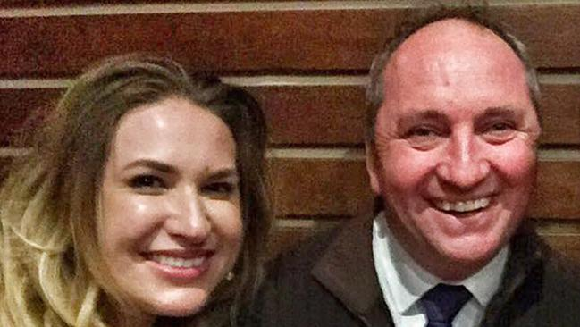 Vikki Campion and Barnaby Joyce. (Pic: supplied)
