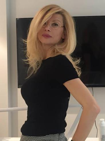Gabriela Konstantinova, the Bulgarian girlfriend of Clive Mensink. Picture: Facebook