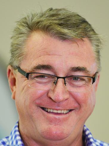 Townsville Deputy Mayor Les Walker. Picture: Zak Simmonds