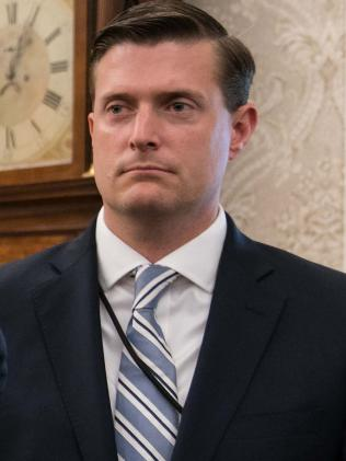 Former White House staff secretary Rob Porter.  Picture:  AFP