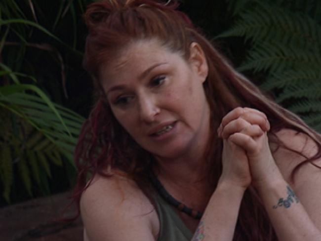 80s pop singer Tiffany has been voted off on I'm A Celebrity ... Get Me Out Of Here! Picture: Channel Ten
