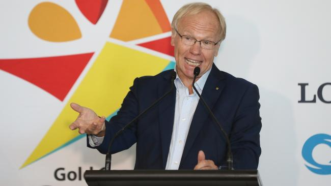 Commonwealth Games organising committee chairman Peter Beattie said the choice is up to you. G'day is OK. Pic Peter Wallis
