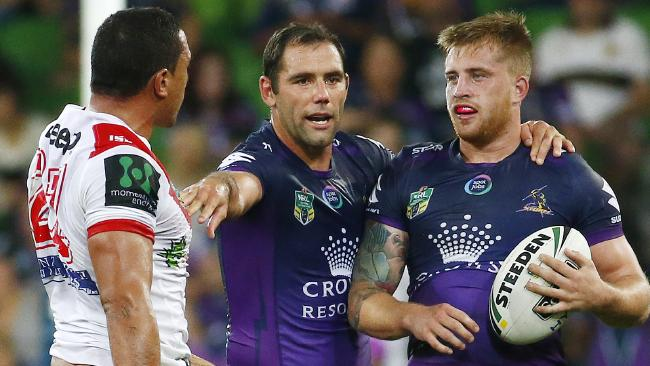 Cameron Smith says Cameron Munster is a 'good young kid'. Picture: Colleen Petch.