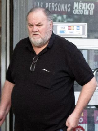 Thomas Markle now lives in Mexico. Picture: Daily Mirror/Australscope