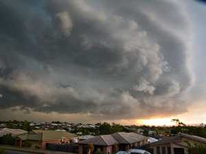 STORM ALERT: Damaging winds, large hail for SEQ