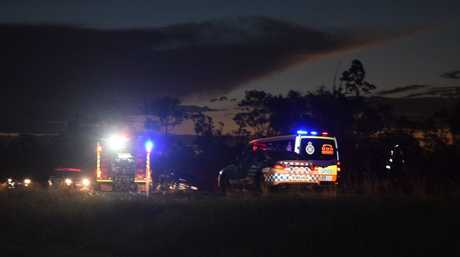 SERIOUS CRASH: The scene of the Goodwood Rd crash south of Coonarr Rd.