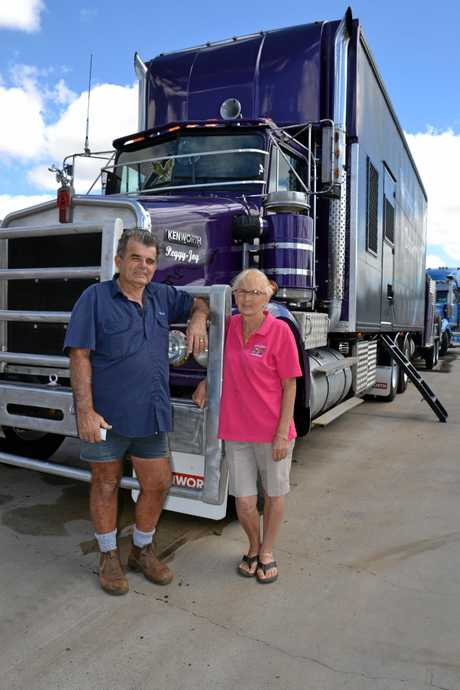 Wally and Robyn Hailey with