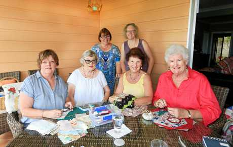 The Murwillumbah Quilters Club is gearing up to celebrateits 30th year in 2018 and will host a huge  regional event for the first time since 2004 ; Jane Yeoman, Dianne Johnston, Anne Hartigan, Jackie Balk, Lois OConnor and Gill Andrews.