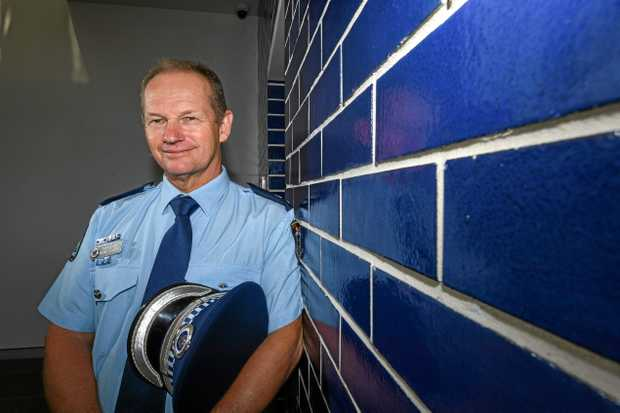 WARM WELCOME: Tweed Byron Police District Superintendent Wayne Starling is looking forward to the family-friendly community open day, which will give residents a chance to inspect the new Tweed Police Headquarters.