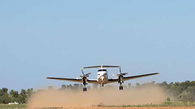 Two Victorians attempt to fly into southwest Queensland