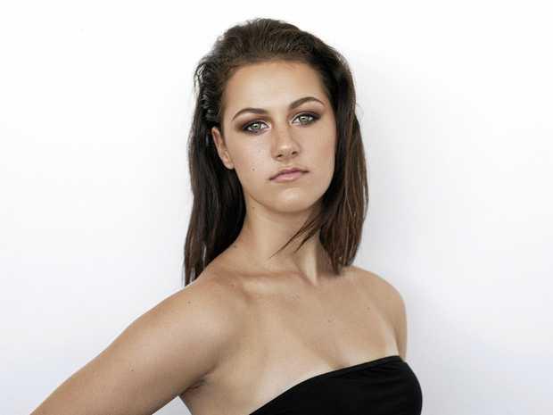 Mackay supermodel hopeful Danielle Gutschlag.
