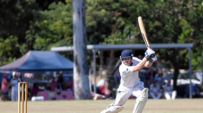 IN FORM: Opener Lachlan Hartley finished on 54 not out in Frenchville's comfortable win over The Glen in Gladstone on Saturday.