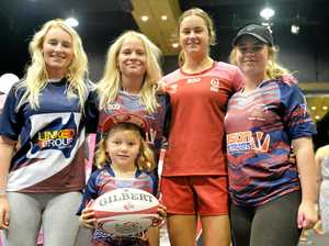 Young Australian women's 7s star inspires at Expo