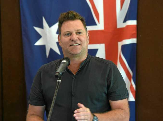 Byron Shire mayor Simon Richardson.