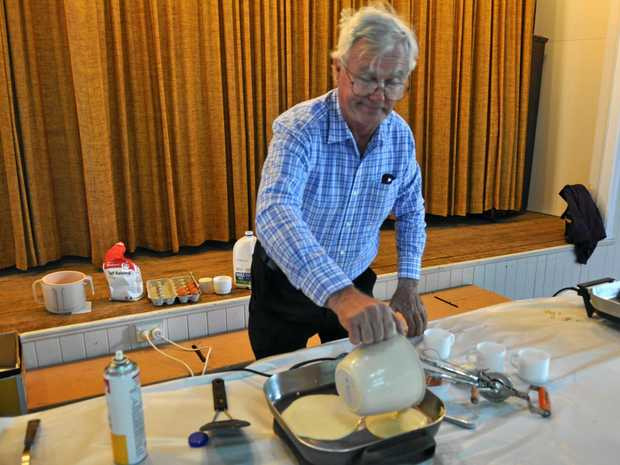 It's flipping great! Mold preparing for annual pancake race on Shrove Tuesday