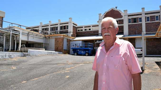 Graeme Collins sees huge potential in the old Parmalat building, and is ready to make it come to life.