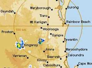 Large hail, damaging winds likely for Gympie region