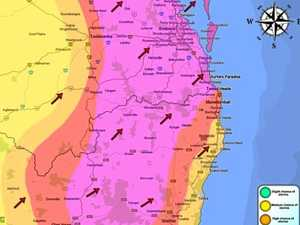 Severe storms, gusty winds, lightning set to hit region