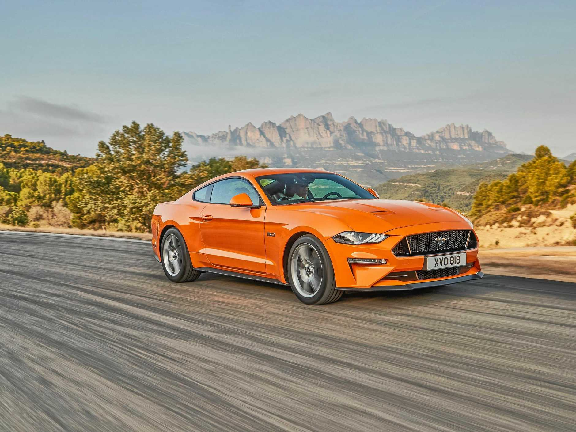 The new 2018 Ford Mustang comes with improved technology and more firepower from the V8.