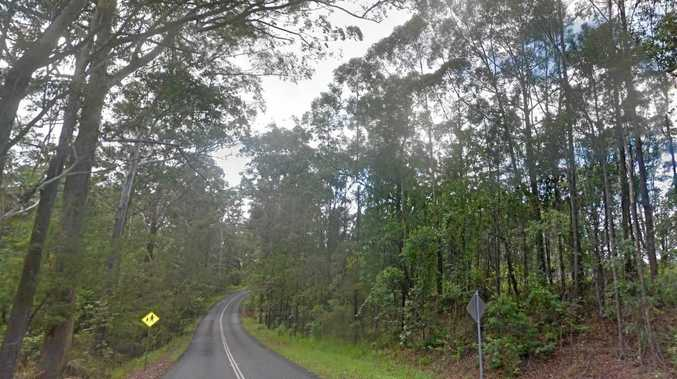 The fatal accident happened near this stretch of Old Gympie Road.