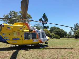 Man airlifted with head trauma after CQ cattle yard accident