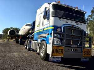 WATCH: How the 'Gooney Bird' made its way to Ipswich