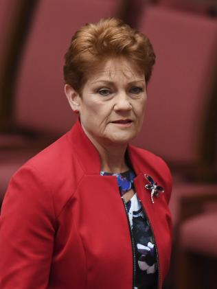 "Pauline Hanson: ""I think the people want an explanation"""