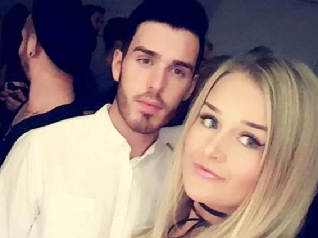 Joshua Stimpson stabbed ex Molly McLaren (pictured) to death. A night before he went on a Tinder date with the unnamed woman who's shared her story. Picture: Supplied