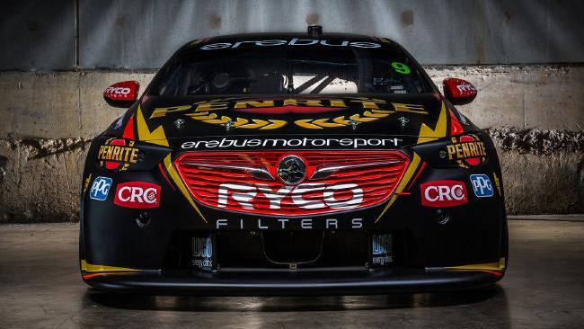 David Reynolds' new Penrite livery at Erebus Motorsport for the 2018 Supercars season.