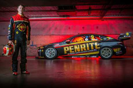 Reynolds' new Penrite livery for 2018.