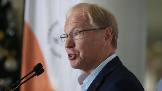 Commonwealth Games organising committee chairman Peter Beattie said no one is being forced to do anything. Pic Peter Wallis
