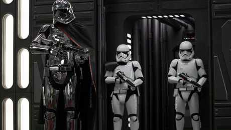 Stormtroopers in The Last Jedi.