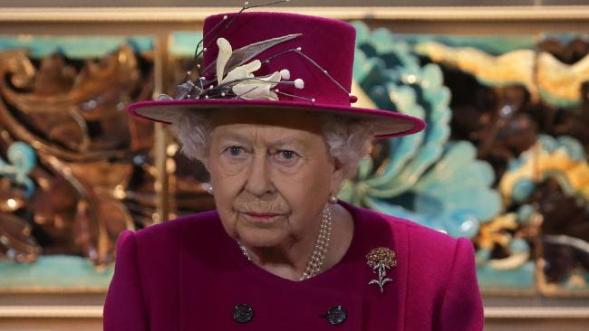 Britain's Queen Elizabeth II has banned disposable plastic from royal estates. Picture: AFP/ Daniel Leal-Olivas