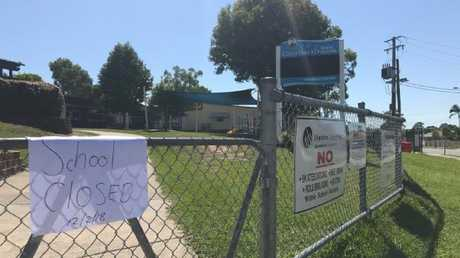 Crestmead State School principal Michael Ward made the decision to close the school after deeming the area unsafe. Picture: Jacob Miley