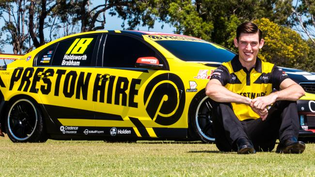 Matt Brabham will co-drive with Lee Holdsworth in this year's Supercars' Enduro Cup.
