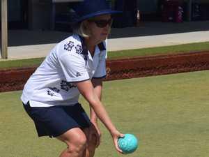 Byron Bay bowler Judy Wallace at the Northern Rivers