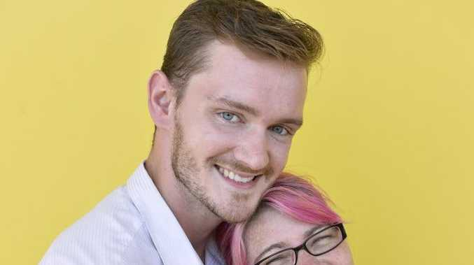 Married couple Ryan and Sarah Walker both work for YellowBridge, Tuesday, February 13, 2018.