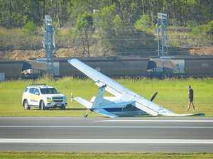 PLANE CRASH: Safety Bureau won't investigate Gladstone incident