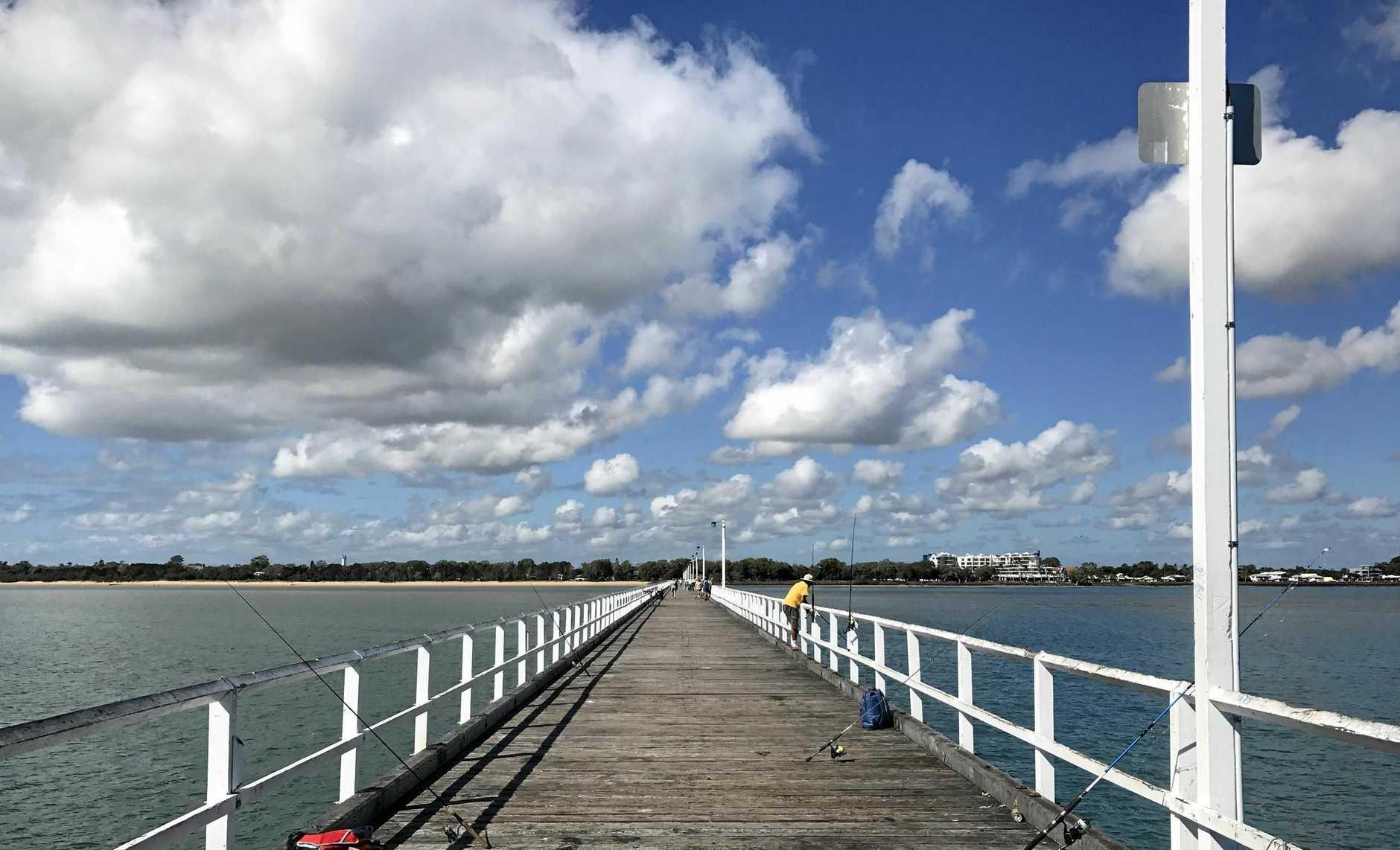 POPULAR SPOT: The Urangan Pier today.