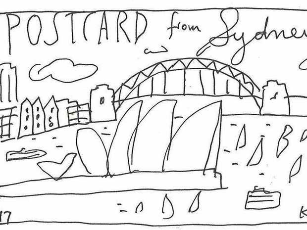 ICONIC IMAGE: Ken Done's Postcard from Sydney.