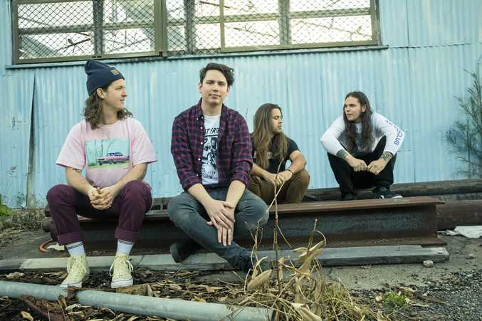 The band Violent Soho. Supplied by Mushroom Group.