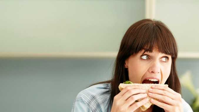 TAKE YOUR TIME: Chewing slowly can significantly cut the risk of obesity.