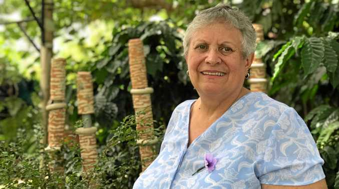 WORK TO DO: Speaking in Gympie yesterday, Aunty Judi Wickes says the Stolen Generation conversation needs to move forward with education being the key.